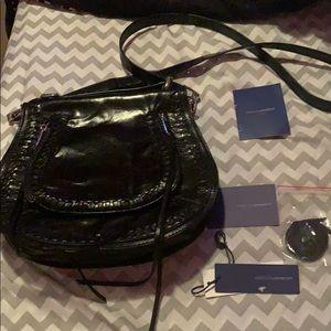 NWT Rebecca Minkoff Vanity Saddle Shoulder Bag